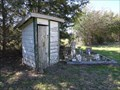 Image for Weaver Cemetery Outhouse - Kaufman County, TX