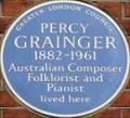Image for Percy Grainger - King's Road, London, UK
