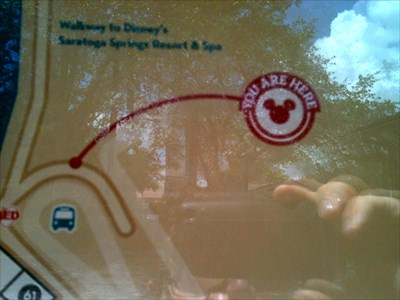 Downtown Disney Florida Map.Downtown Disney Map Buses Lake Buena Vista Fl You Are Here
