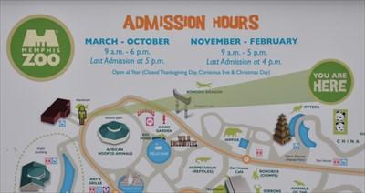 Memphis Zoo Aquarium You Are Here Maps on Waymarkingcom