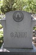 Image for Cahn Family -- Temple Emmanu-El Cemetery, Dallas TX