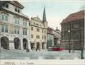 Image for Šternberský palác a Tomášská ulice (1902) - Praha, Czech republic