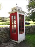 Image for Tyneham Red Telephone Box - Tyneham, Dorset, UK