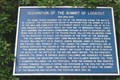 Image for Occupation of the Summit of Lookout - Point Park - Lookout Mountain, TN