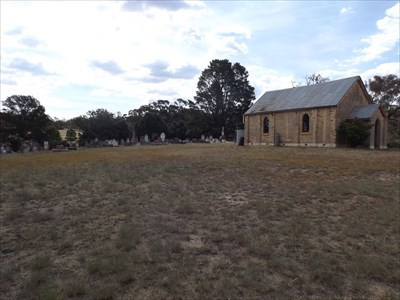 The Church and Graveyard, on Lowes Mount Rd.From the southeast.1621, Thursday, 8 February, 2018