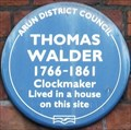 Image for Thomas Walder - High Street, Arundel, UK