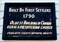Image for Presbyterian Kirk - 1790 - St. George, NB