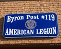 """Image for """"Byron Post #119"""" Byron, MN."""