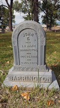 Image for John E. Barrington - IOOF Cemetery - Lakeview, OR