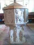 Image for Baptism Font, St Mary - Old Newton, Suffolk