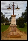 Image for Boer War memoral lamp, Forbes, NSW, Australia