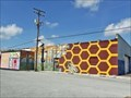 Image for Project to cover graffiti-tainted wall with colorful mural begins in Arlington - Arlington, TX