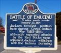 Image for Battle of Emucfau - New Site, AL