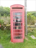 Image for Red Telephone Box - Glasnakille, Scotland