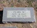 Image for 102 - Pearl W. (Hansen) - Fairlawn Cemetery - OKC, OK