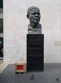 Image for The Nelson Mandela Statue, Royal Festival Hall, London UK
