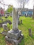 Image for Mary & Susannah Maria Robinson - Old Burial Ground - Fredericton, New Brunswick