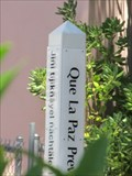Image for Brewster Ave Peace Pole - Redwood City, CA