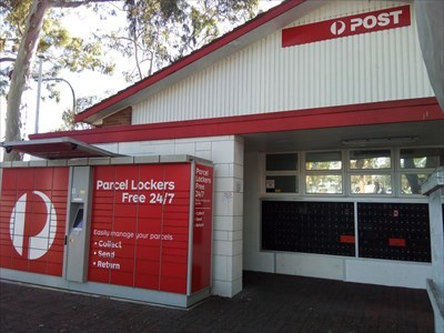 The Parcel Lockers system and Postal Boxes.