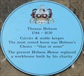 Image for Thomas Hobson - St Andrew's Street, Cambridge, UK