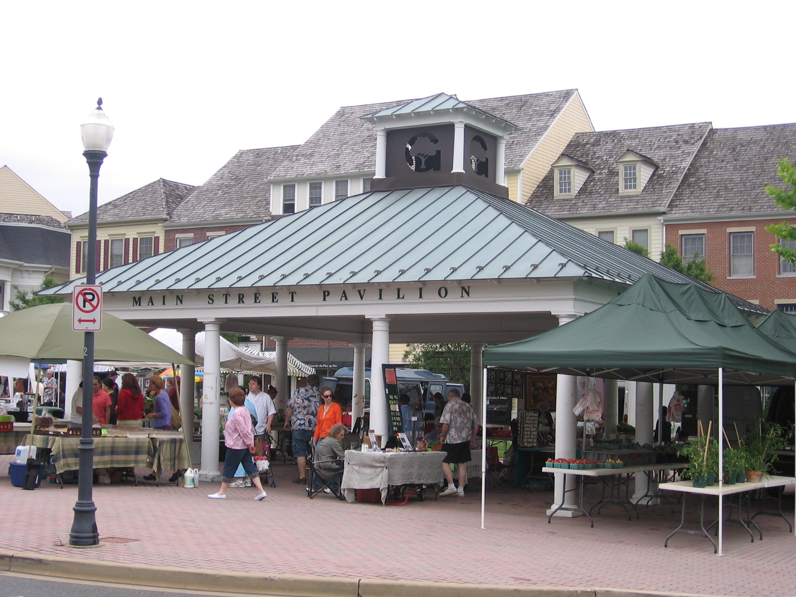Kentlands Farmers Market Gaithersburg Md Image