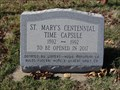 Image for St. Mary's Catholic Church Time Capsule - Windthorst, TX