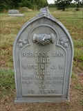 Image for Lide - Rader Cemetery - Kaufman County, TX