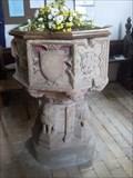 Image for Font - St Peter' Church, The Street, Cretingham, Suffolk, IP13 7BG