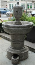 Image for Horse & Animal Fountain -- Blackfriar's Pub, City of London UK