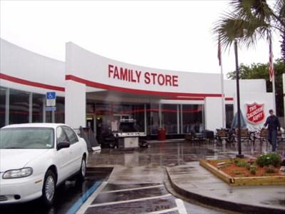 Salvation Army Beach Blvd Jacksonville Florida Thrift Stores On