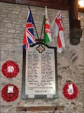 Image for St Catwgs Church - WW1 Memorial - Gelligaer,  Wales.