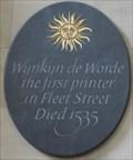 Image for Wynkyn de Worde - St Bride's Church, Fleet Street, London, UK