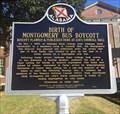 Image for Birth of Montgomery Bus Boycott - Montgomery, AL