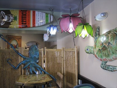 Margaritaville Decorations Inside, Capitola, CA