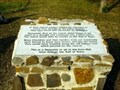 Image for Memorial at Old Stone Presbyterian Church in Catoosa County, Georgia