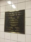 Image for Bryant Park / 42nd St. Station - 2002 - New York, NY