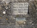 Image for William Carey's Historical Wall - Carey Road, Pury End, Northamptonshire, UK
