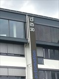 "Image for Futuristic Townclock ""OnTec"" - 95119 Naila/Germany/BY"