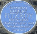Image for Admiral Robert Fitzroy - Onslow Square, London, UK