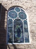 Image for Church Stained Glass Window - The United Presbyterian Church - Canon City, CO
