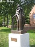 Image for George Washington - The Free Mason [Bronze Statue] - Lexington, MA