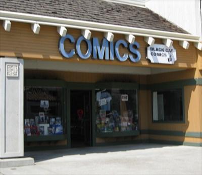 Black Cat Comics Milpitas Ca Comic Book Shops On Waymarking Com