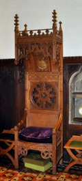 Image for Bishop's Chair - St Botolph - Longthorpe, Cambridgeshire