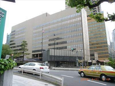 US Embassy Tokyo JAPAN Diplomatic Missions On Waymarkingcom - Us embassy tokyo map