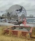 Image for Making Memories Steel Earth Globe - Washburn MO