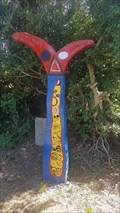 Image for National Cycle Route marker for NCR 1 - Tyler Hill Road - Blean, Kent