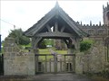 Image for World War 1 Memorial Lychgate and Plaque -  St Michael's Church - Marbury, Cheshire East.