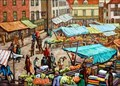 "Image for ""Hitchin Marketplace"" by Gerard Ceunis – Market Place, Hitchin, Herts, UK"
