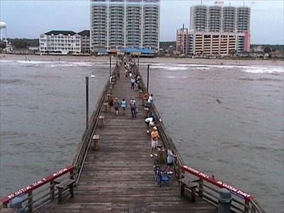 webcams cherry grove pier