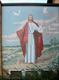 Image for Christian Church Mural of Jesus - Millersburg, OH